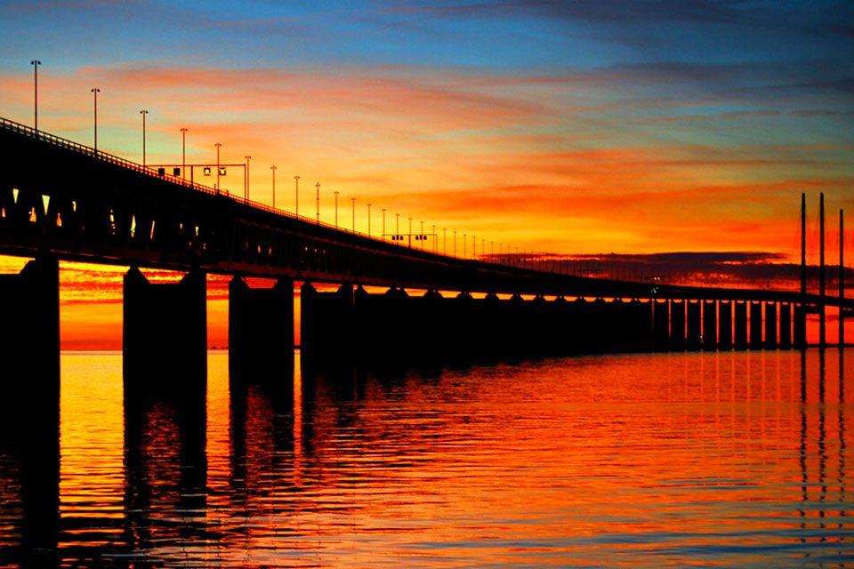 Эресуннский мост фото