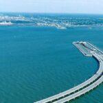 Эресуннский мост-тоннель от Мальме до Копенгагена