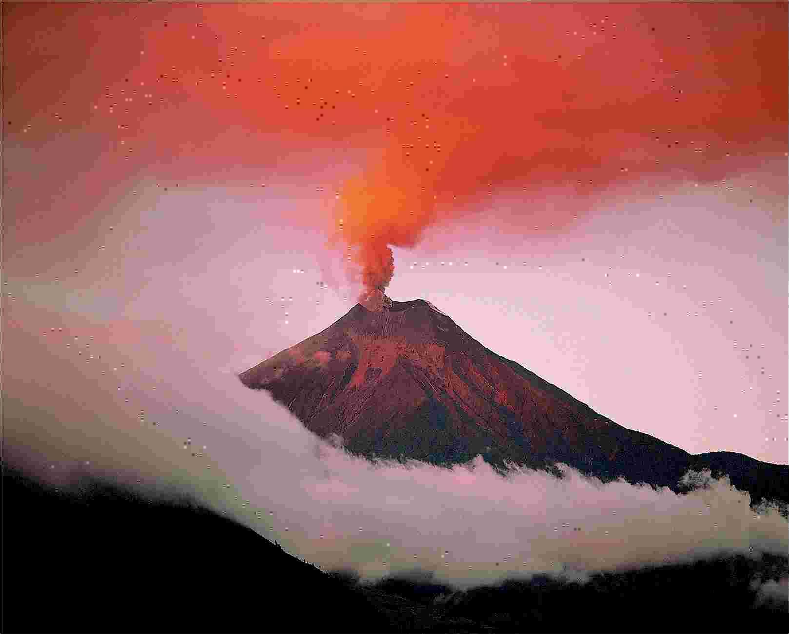 вулкан Котопахи где находится