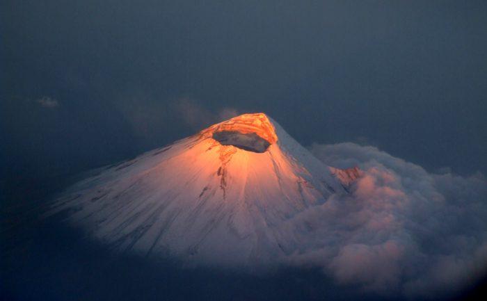 вулкан Парикутин вид сверху