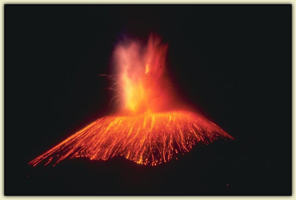 вулкан Парикутин извержение
