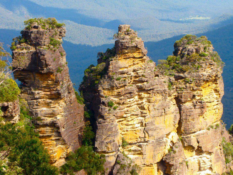 гора Три Сестры