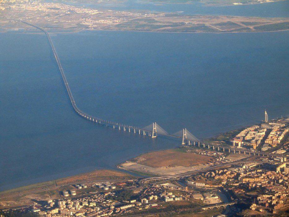 длина моста Васко да Гама