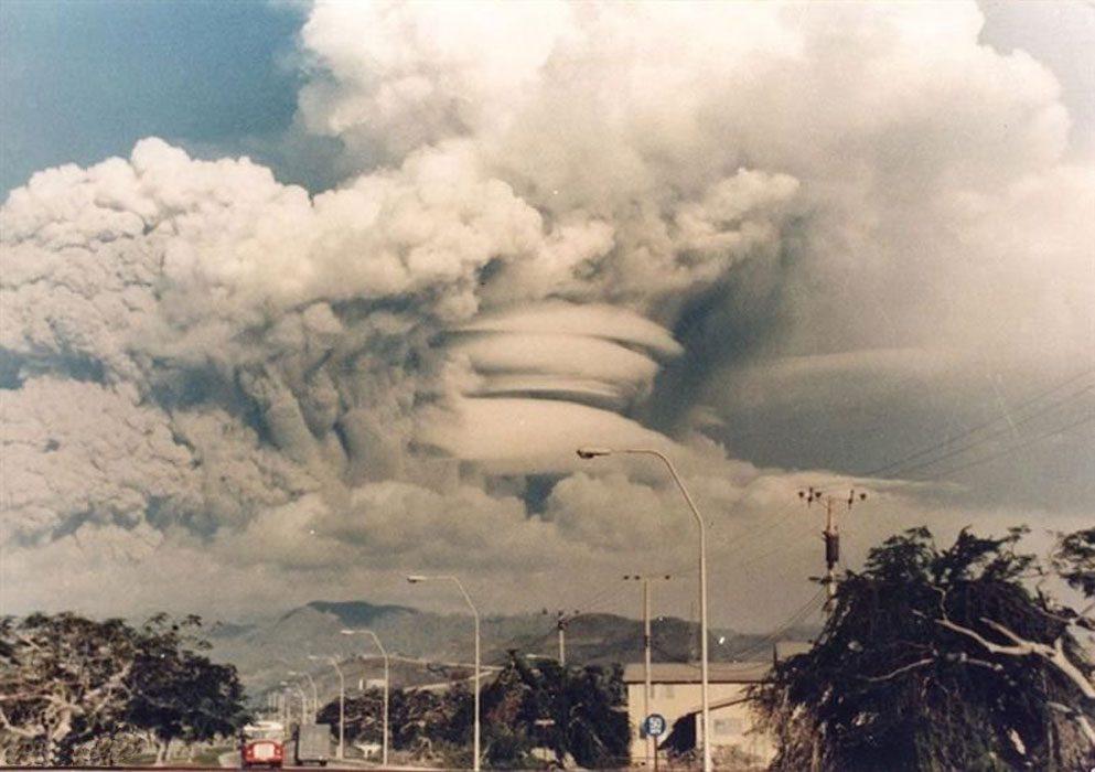 извержение Пинатубо
