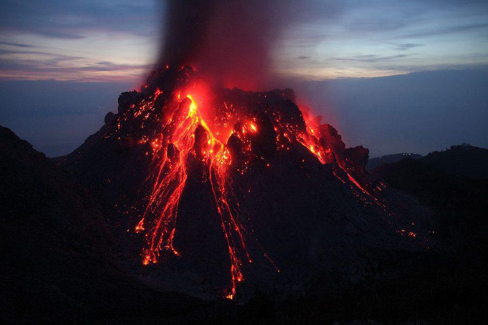 извержение вулкана фото в хорошем качестве