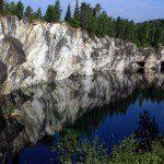 Мраморный каньон Рускеала – чудо природы Карелии