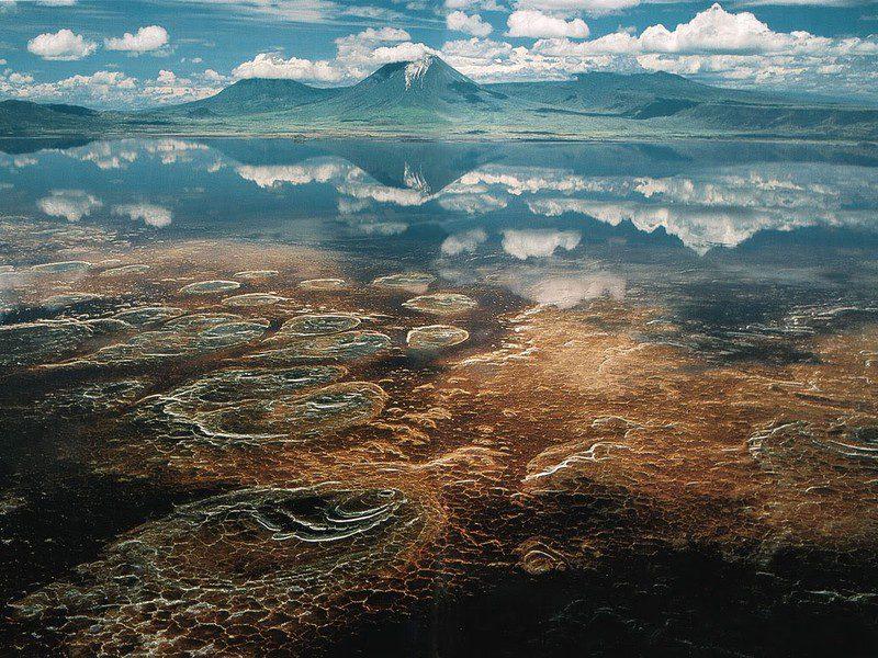 озеро Натрон фото