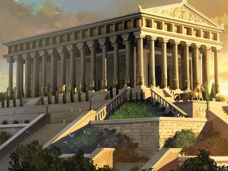 храм артемиды в эфесе презентация