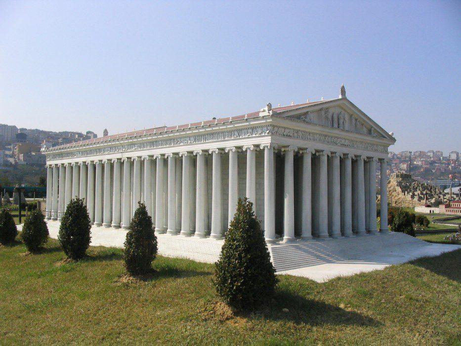 храм артемиды в эфесе факты
