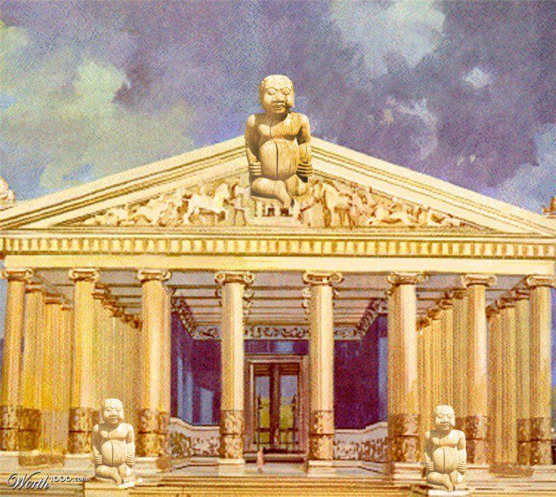 храм Артемиды Эфесской семь чудес света