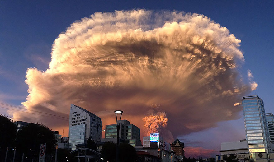 причины извержения вулкана фото