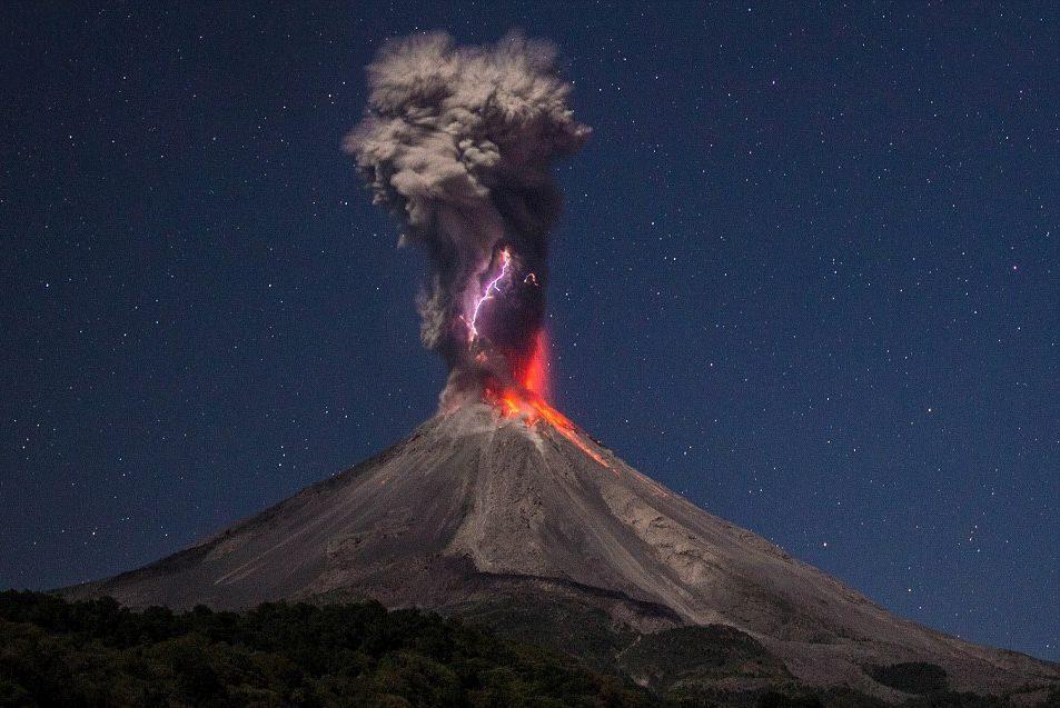 извержение вулканов это
