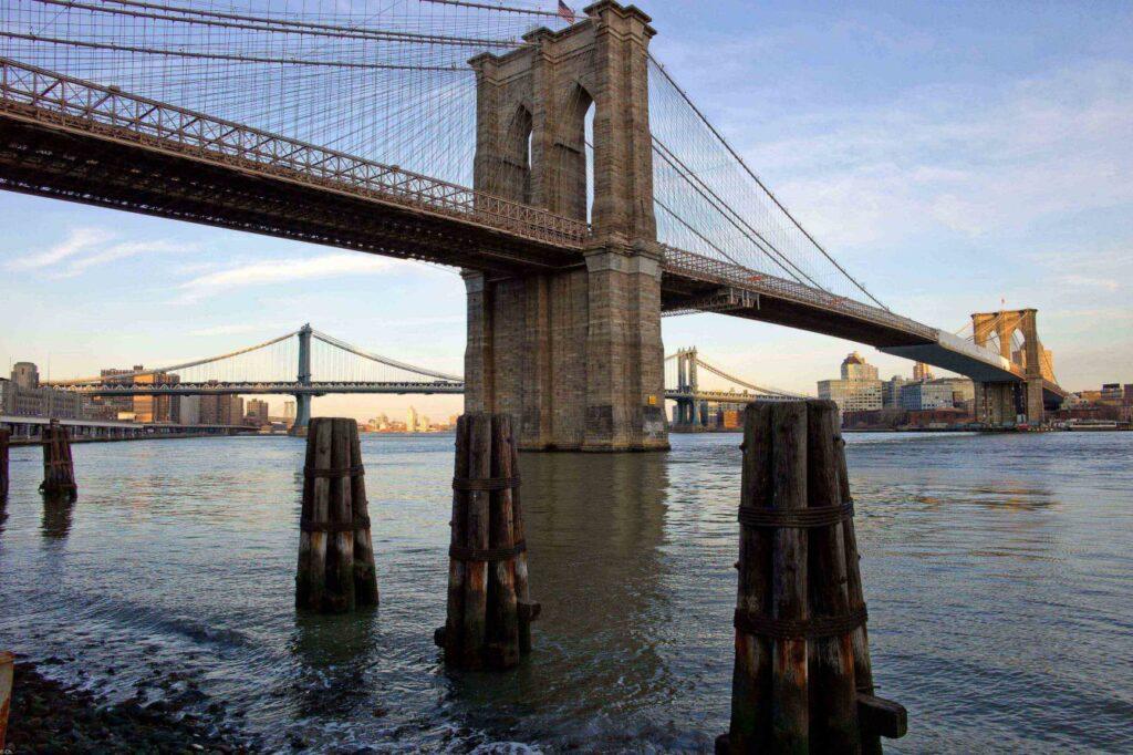 Бруклинский мост Манхэттен