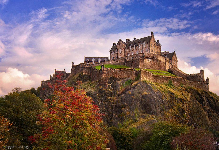 Эдинбургский замок Эдинбург