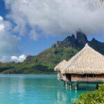 Остров Бора-Бора в Тихом океане