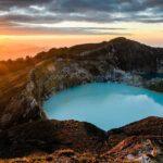 Келимуту – вулкан разноцветных озёр