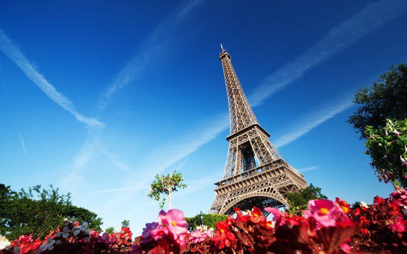 эйфелева башня на фото