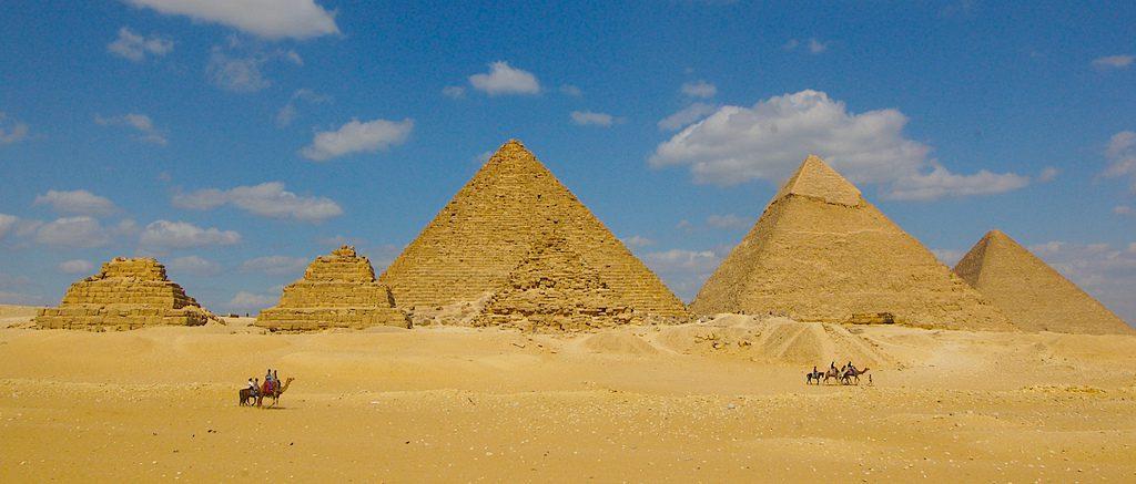 пирамиды Гизы факты