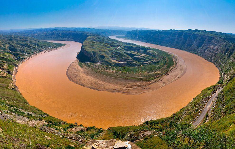 река Хуанхэ исток и устье фото