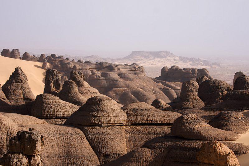 нагорье ахаггар в Африке