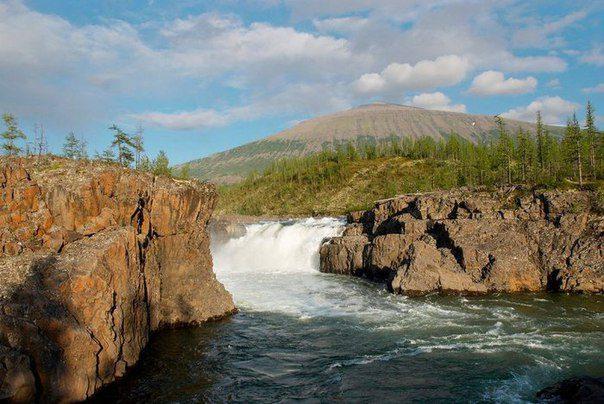 плато Путорана фото