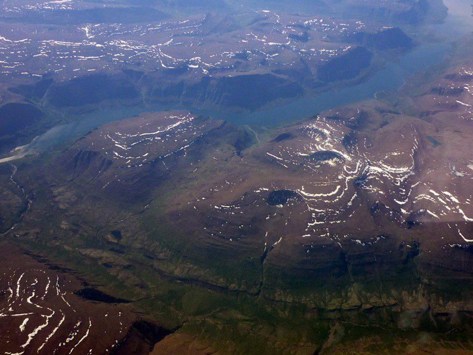 плато Путорана на фото