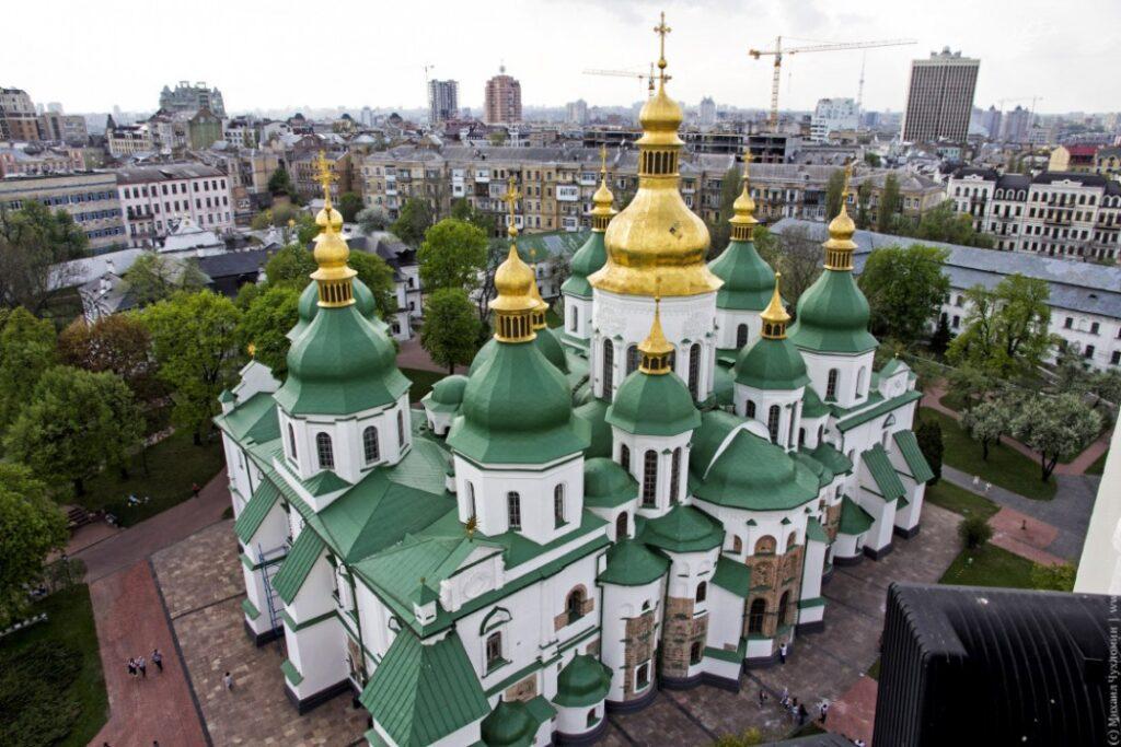 софийский собор в киеве был построен при князе