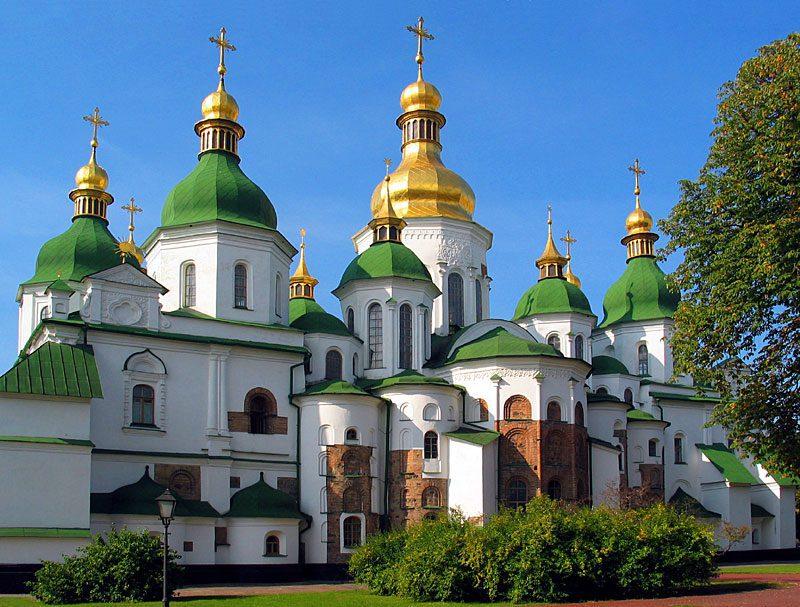 Софийский собор в Киеве фото