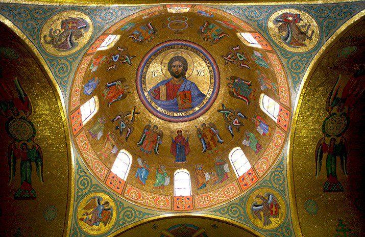 Софийский собор в Киеве фото внутри
