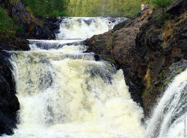 водопад Кивач фото