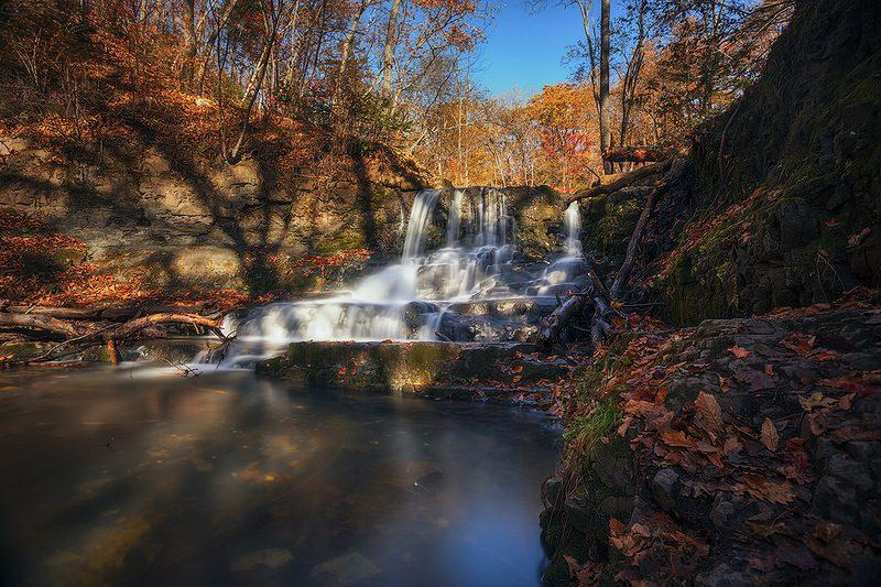 Кравцовские водопады Приморье