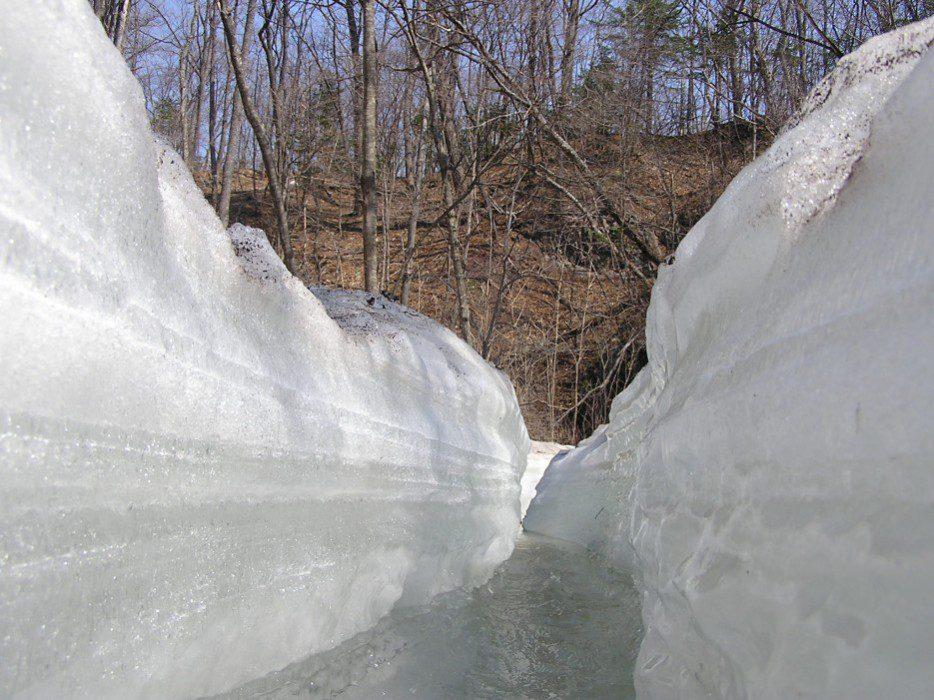 Кравцовские водопады фото зимой