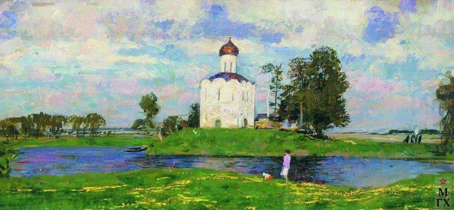 церковь покрова на нерли владимирская область картина