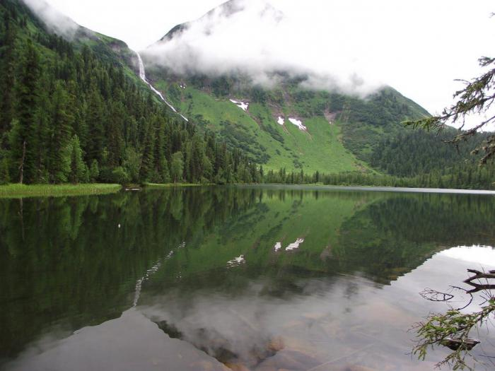 Кинзелюкский водопад Россия