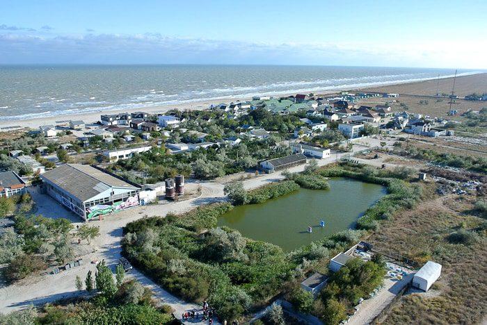 бирючий остров на азовском море в херсонской области