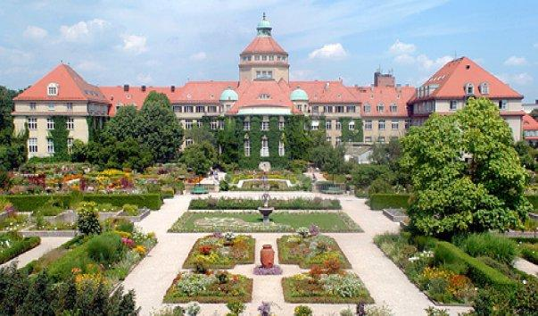 ботанические сады в Европе