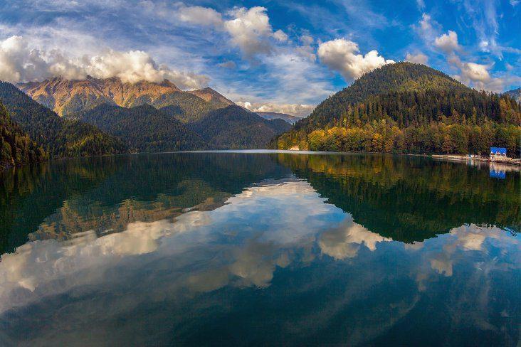 Озеро Рица в Абхазии где находится