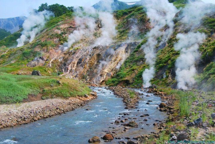 Долина гейзеров  Камчатка интересные факты