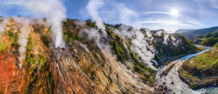 Долина гейзеров Камчатки