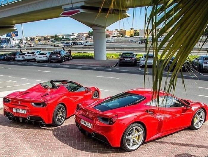 Феррари 458 в Дубае