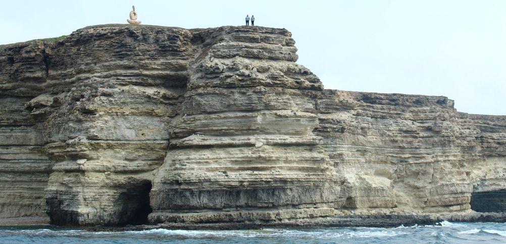 Мыслитель сердце Тарханкута с моря фото