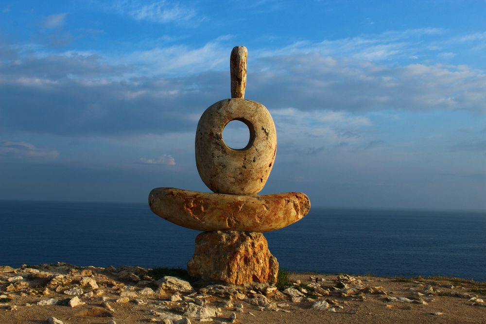 скульптура Сердце Тарханкута