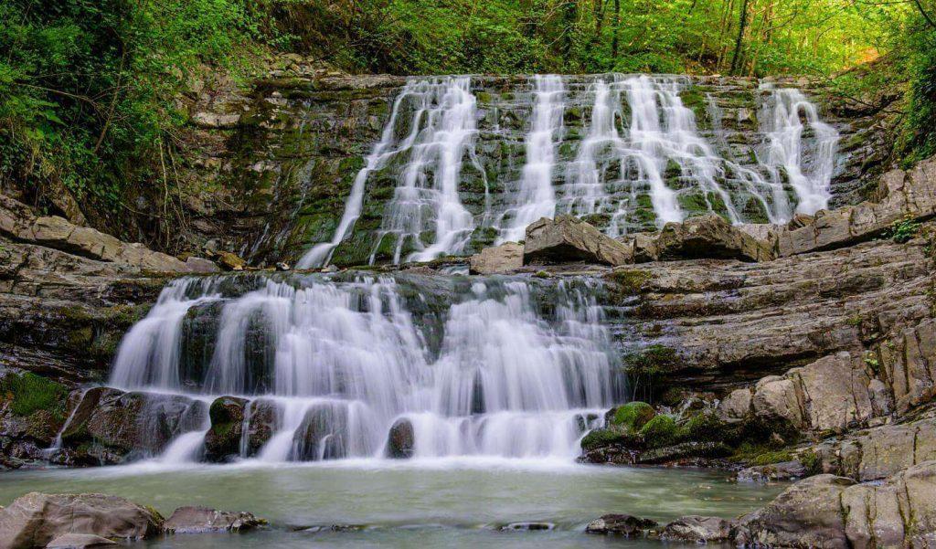 33 водопада в сочи фотографии