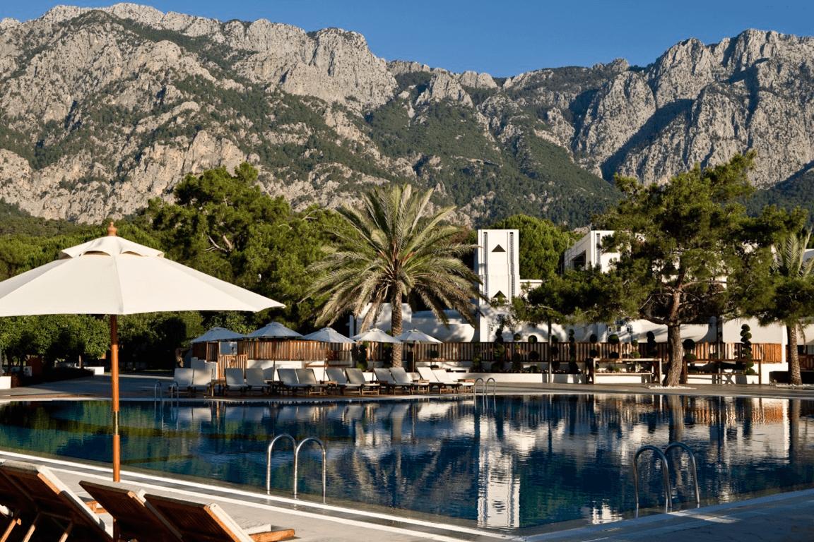 Club Med Palmiye кемер бассейн и горы