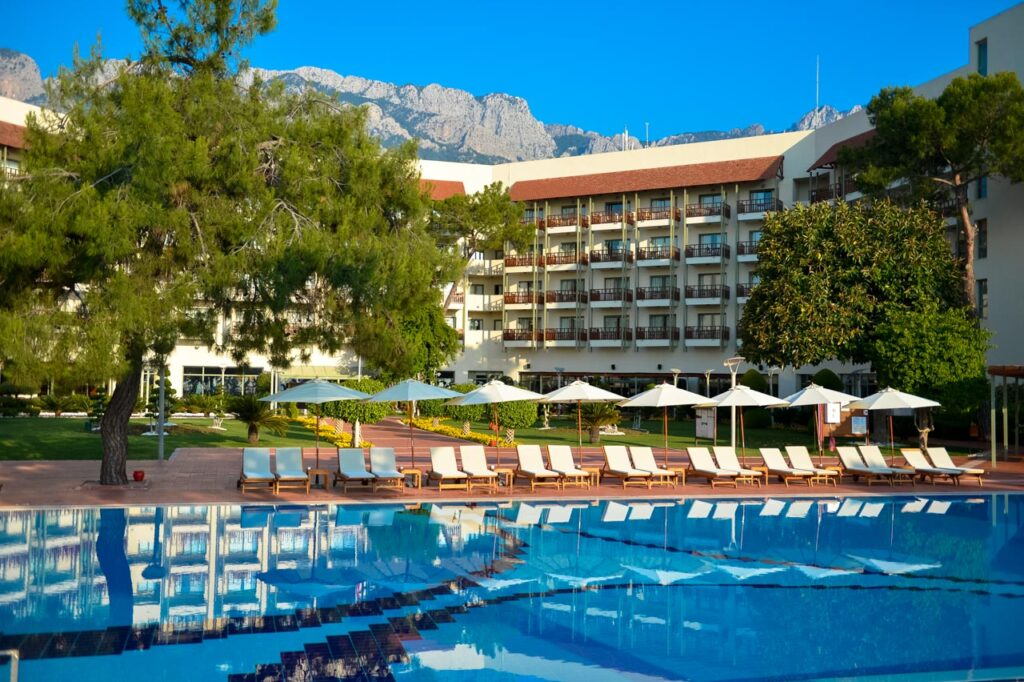 курорт Club Med Palmiye в турции