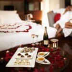 Романтическое свидание в отеле