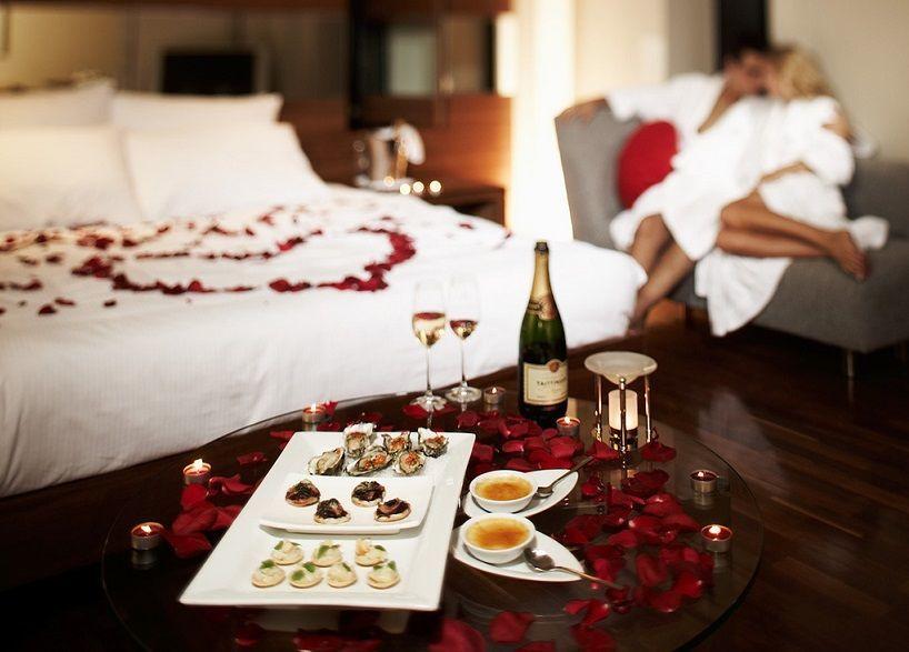 свидание в отеле
