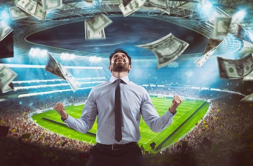 ставки на футбол фото с долларами